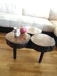 diy tree stump coffee table post how to make a tree stump into a coffee