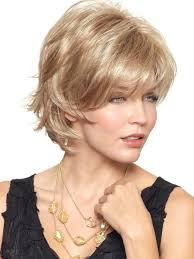 Hairstyles For Round Faces 17 Wonderful SKY WIG By Noriko In SUGAR CANE R Rooted Platinum Blonde And