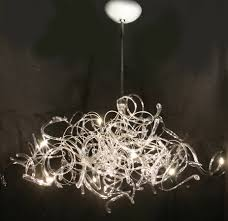 lighting cool white modern chandelier
