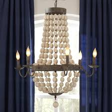 addington 6 light candle style chandelier