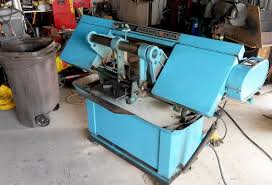 industrial metal band saw. there are good deals on heavy duty bandsaws out if you patient and look around. industrial metal band saw