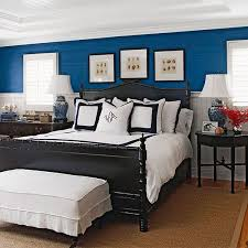 Black And White And Blue Bedroom Ideas 3