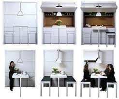 foldaway furniture. Kitchenette With FoldOut Chairs And Counter Foldaway Furniture T