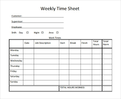 daily timesheet template free printable timesheet template free printable best business template
