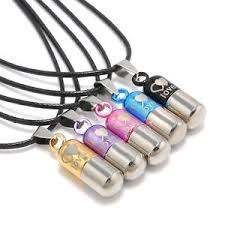 image is loading charm gift metal urn cremation pendant necklace ash