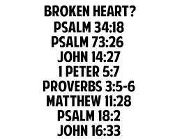 Heart For God Bible Verses Bible Verses For A Broken Heart