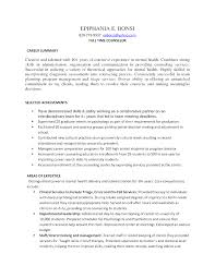 31 Best Of Mental Health Therapist Resume Examples