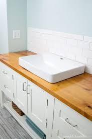 diy wood countertop idea for your home