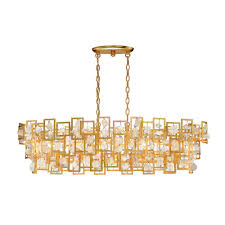 eurofase elrose collection 5 light gold chandelier