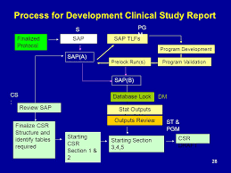 Clinical Trial Process Flow Chart Ppt Statistical Analysis Plan And Clinical Study Report Ppt
