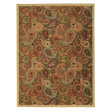 home interior beautiful paisley area rug home dynamix red 8 ft x 10 indoor 1