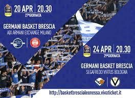 Lega Basket Serie A, le info su biglietti e accrediti per le gare con Milano  e Bologna - Pallacanestro Brescia