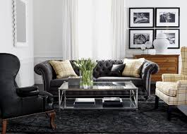 black and chrome furniture. Classic Chrome Living Room Black And Furniture