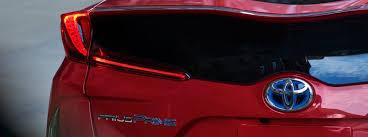 Toyota Prius Comparison Chart 2020 Toyota Prius Prime Le Xle And Limited Trim Level