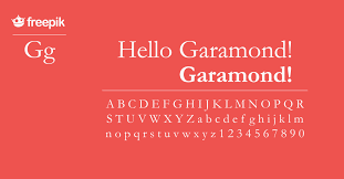 Garamond Designer History Of The Garamond Typeface Freepik Blog