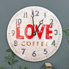 central perk love coffee vintage wall