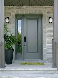 single front doors. architecture: how to paint a metal door bob vila pertaining front decorating single doors