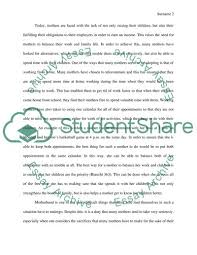 an essay about mother brave mother essay example topics and well written essays