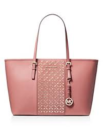 MICHAEL Michael Kors - Voyager Large Hotfix Leather Tote ...