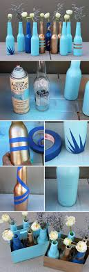 beer bottle bud vases 24 creative uses for beer bottles