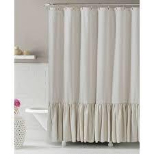gabriella natural linen shower curtain 25 at home