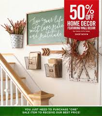 Hobby lobby puts home and wall decor on sale once every other week. Hobby Lobby 50 Off Wall Decor Milled