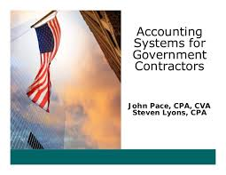 Accounting Systems For Government Contractors