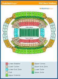 Greene Stadium Seating Chart M T Bank Stadium Mapa Asientos Imagenes Direcciones Y