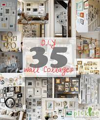 diy art photo wall collages endless