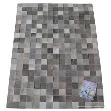 grey patchwork cowhide rug grey cowhide rug8