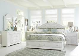 Cottage Queen Bed With Storage Footboard By Liberty Furniture