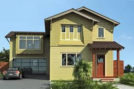 Exterior:Grayish House Paint With Red Oor And White Stripe Painting Nice  Exterior Paint Idea
