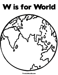 Globe Coloring Page World Globe Coloring Pages280315 Printable