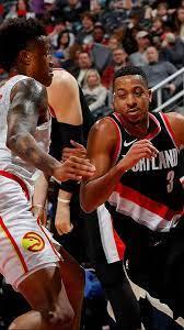 Portland Trail Blazers vs Atlanta Hawks ...