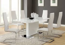 Small Picture White Leather Dining Room Chairs Sale Dining Room Great Leather