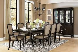 2 transitional dining room set avilon double pedestal dining table he 615