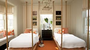 beach house bedroom furniture. twin beds suspend in space with ropes this nautical beach bedroom house furniture o