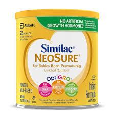 Similac Feeding Chart Pdf Similac Neosure
