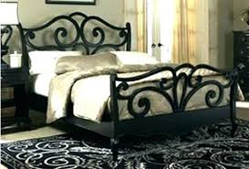 Black Metal Bed Frame Charming Bedroom Ideas Wall Art White Master ...