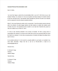 Free Letter Of Recommendation Best 48 Letters Of Recommendation Sample Templates