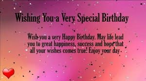 40 heart touching birthday wishes for