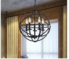 black chandelier lighting photo 5. Image Is Loading NW5LightAntiqueBlackOrbGlobeRound Black Chandelier Lighting Photo 5 S