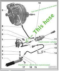 Hydraulic Clutch System Diagram Hydraulic Clutch Pedal Assembly