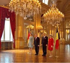 to their country by the president of germany and with just one of the three day visit completed we ve already had balconies banquets and bonhomie