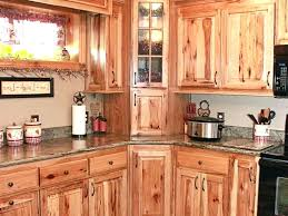 hickory cabinets stone kitchen style rustic island shaker portable white