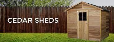 cedar sheds sheds