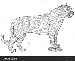 Small Picture Panther Coloring Page Inside Pages itgodme