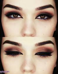 blue eyeliner dark makeup for brown eyes eye makeup