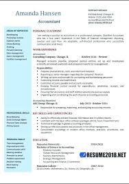Resume Template For Accounting Coachfederation