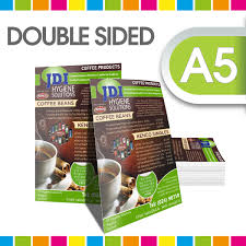 two sided flyer template free double sided brochure vector free download a5 double sided flyer